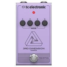 <b>TC</b> Electronic <b>Педаль эффектов</b> 3RD Dimension Chorus — купить ...