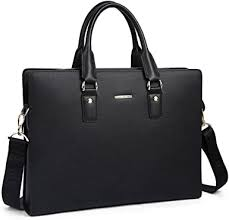 Leather Briefcases 12 Laptop <b>Handbag</b> Mens Totes Office Lawyer ...