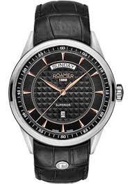 <b>Часы Roamer 508.293.49.55.05</b> - купить мужские наручные <b>часы</b> в ...