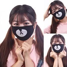Унисекс пылезащитный рот <b>маска</b> Корейский KPOP черный лаки ...