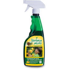 Инсектицид зеленое <b>мыло с экстрактом</b> пихты 900 мл купить по ...