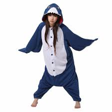 popular shark pajamas buy cheap shark pajamas lots from hot new winter unisex adult pajamas cosplay costume animal nightwear onesie sleepwear shark