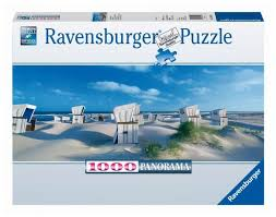 <b>Ravensburger Пазл</b> панорамный <b>Пляжные корзинки</b> на Зюлте ...