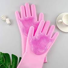 Snowpearl <b>Silicone Hand</b> Gloves with Scrubber, Scrub Cleaning ...