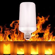 Goodland LED Flame Lamp E27 <b>LED Flame Effect Light</b> Bulb E26 ...