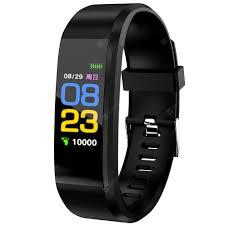 <b>115Plus</b> Black <b>Smart Wristband</b> Sale, Price & Reviews | Gearbest