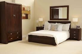 dark wood king bedroom set