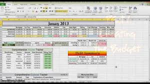 how to make a budget in excel part  how to make a budget in excel part 1