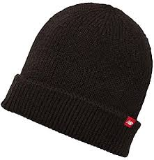 New Balance <b>Watchman's Winter Knit Beanie</b> Black: Amazon.com ...