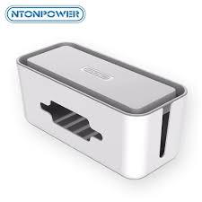Konektor <b>NTONPOWER Hard Plastic</b> Power Strip Storage Box ...