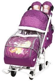 <b>Санки</b>-<b>коляска Nika Disney</b> baby 2 (DB2) — купить по выгодной ...