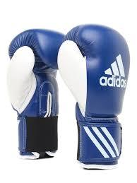 <b>Перчатки</b> боксерские <b>Adidas Response</b>, сине-белые, <b>10oz</b> ...