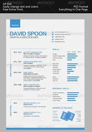 a bdaac  z one page resume  seangarrette coclean one page resume templates clean one page resume templates