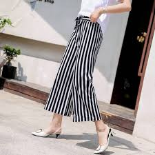 Buy <b>2018 new Korean version</b> of the wild loose wide leg pants ...