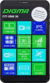 Купить <b>Планшет DIGMA CITI 8588</b> 3G, 1GB, 16GB черный в ...