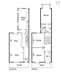 Victorian Terrace House Plans  terraced house floor plans   Friv    Victorian Terrace Floor Plan