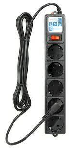 <b>Сетевой фильтр Power</b> Cube SPG-B-10-BLACK, 3 м — купить по ...