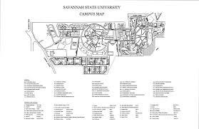 savannah state university campus map