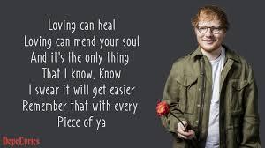 <b>Photograph</b> - Ed Sheeran (Lyrics) - YouTube