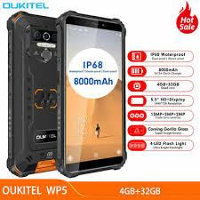 <b>4G</b>-<b>OUKITEL WP5 LTE</b> прочный Android 9.0 смартфон ...