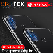 2 in 1 Camera lens <b>Tempered Glass For Xiaomi</b> Redmi Note 8 Pro ...