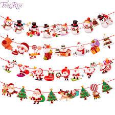 Santa Claus <b>Cartoon</b> Flag <b>Christmas Decorations</b> For Home ...
