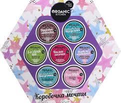 <b>Подарочный</b> набор <b>Organic</b> Shop <b>Kitchen</b> Коробочка мечты, 7 шт ...