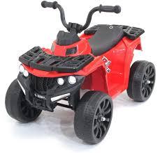 <b>Детский квадроцикл R1</b> на резиновых колесах 6V - 3201-RED ...