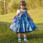 Пэчворк в детской одежде детской