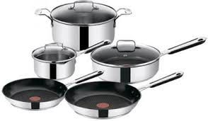 Купить <b>набор посуды</b> Tefal E763S544 Jamie Oliver, <b>8 предметов</b> в ...