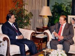 Nawaz meets Zardari; Nawaz says his govt to take all parties along for achievement of national interests