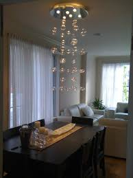 bubble chandelier handblown glass contemporary dining room bubble hand blown glass