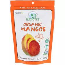 Natierra, <b>Organic Freeze-Dried</b>, <b>Mango</b>, <b>1.5</b> oz