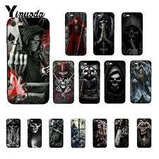 Yinuoda Grim reaper skull skeleton DIY <b>Printing</b> Drawing Phone ...