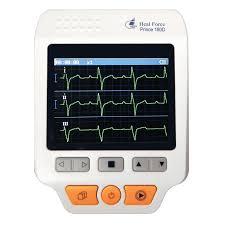 Heal Force Prince 180D <b>Medical</b> Portable ECG EKG Heart Rate ...