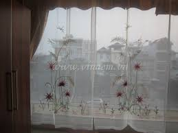 buy unique pumpkin embroidered kitchen curtains brand  images about curtains embroidery on pinterest swedish embroidery hand