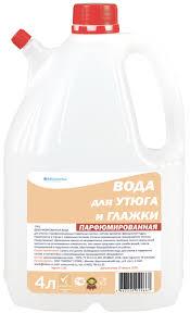 <b>Вода для утюга</b> и глажки - <b>Парфюмированная</b> - 4 литра ...