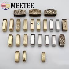<b>4pcs</b> Meetee PureCopper <b>Stainless steel</b> Belt Buckle Accessories ...