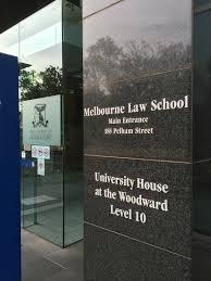 Escuela de Derecho de Melbourne