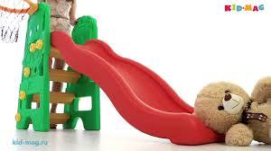 <b>Edu-Play</b> - детская <b>горка</b> Медвежонок от <b>KID</b>-MAG - YouTube