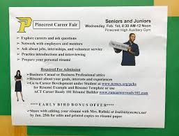 career development pinecrest high career fair feb 1 2017 pinecrest career fair feb 1 2017