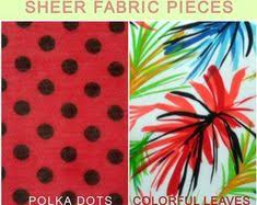 Choice of 2 sheer <b>fabric</b> pieces-<b>Dressmaking</b> lightweight sewing ...