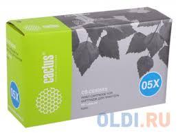 <b>Картридж Cactus CS-CE505X</b> (CS-CE505XS) для HP LJ2055 ...