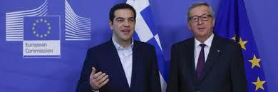 Risultati immagini per Merkel Tsipras accordo