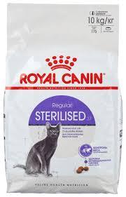 <b>Корм</b> для стерилизованных кошек <b>Royal Canin</b> 37 10 кг — купить ...