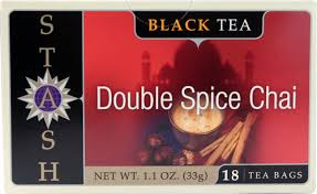 Stash <b>Black Tea Double Spice</b> Chai -- 18 Tea Bags - Vitacost