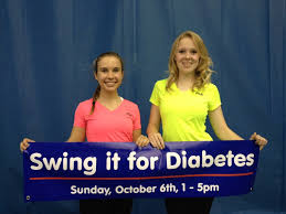 students take a swing at diabetes current in carmel carmel high school juniors sophia gould and vivian heerens turned their passion for volunteerism into helping