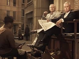 bert cooper in argyle socks roger sterling art roger sterling office