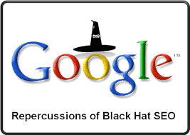 The repurcussions of black-hat SEO