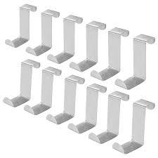 <b>Набор из 12 крючков</b> из нержавеющей стали для двери, вешалок ...
